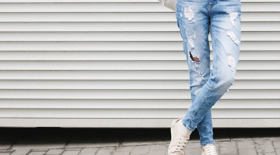 destroyed jeans selber machen