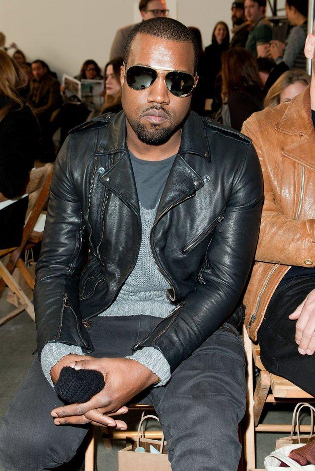 Kanye West bei einer Fashionshow