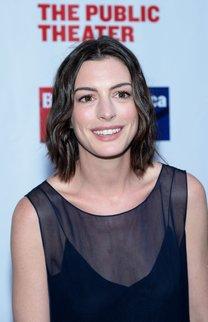 Anne Hathaway: Welliger Bob