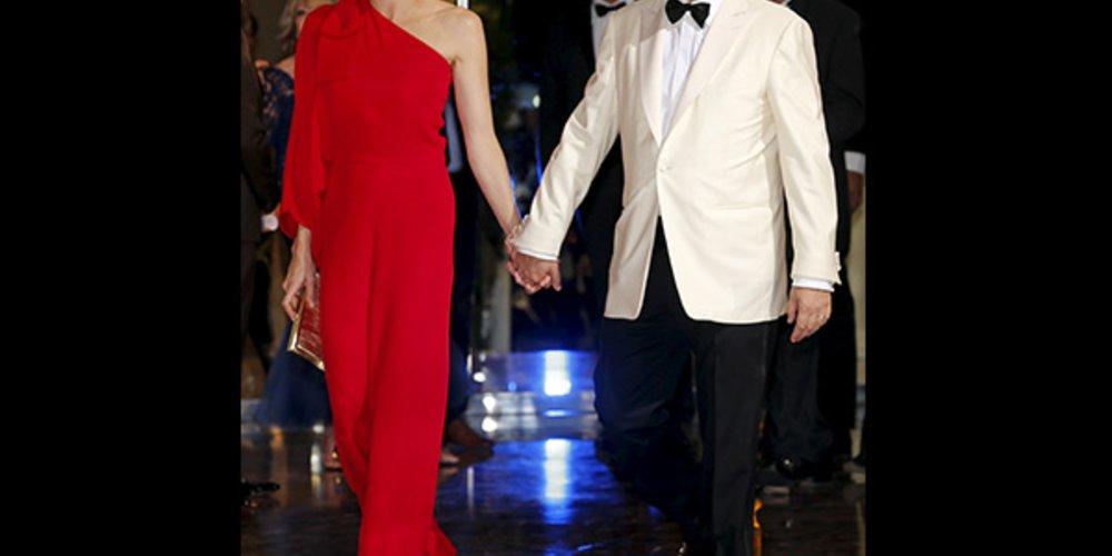 Fürstin Charlène und Fürst Albert von Monaco