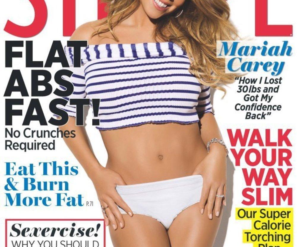 Mariah Carey präsentiert ihre Bauchmuskeln