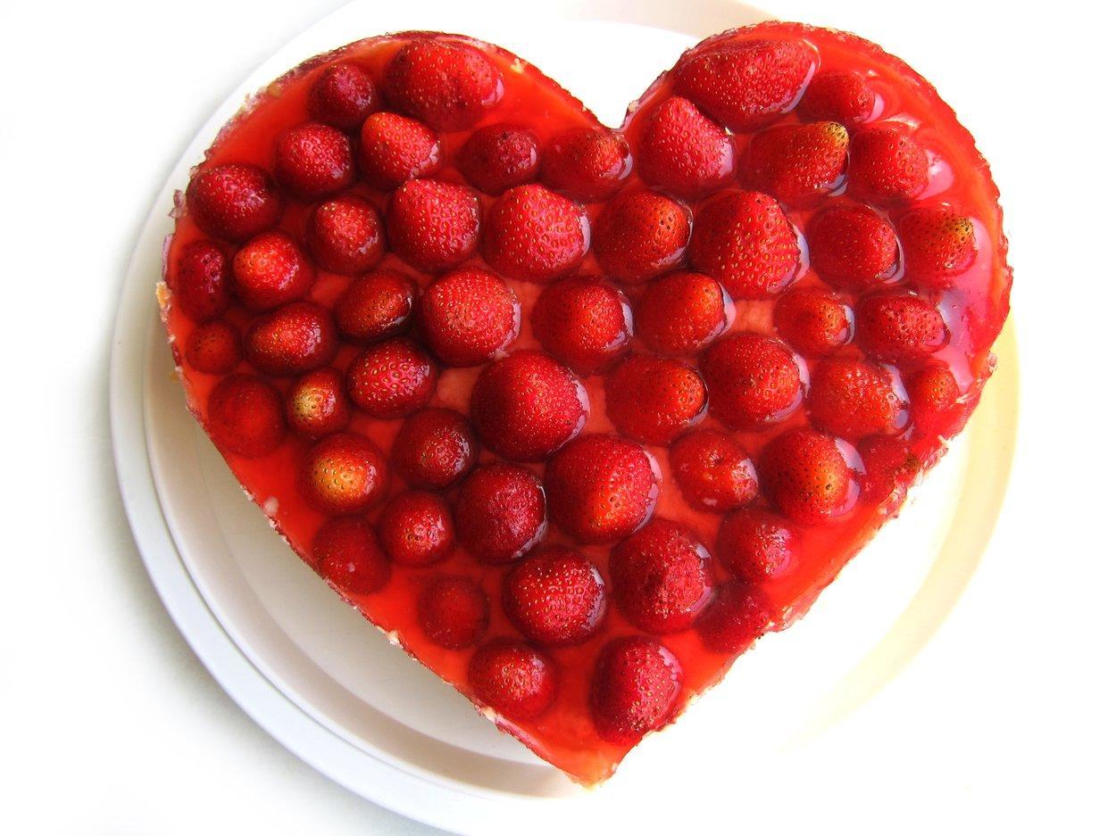 Herzkuchen backen valentinstag