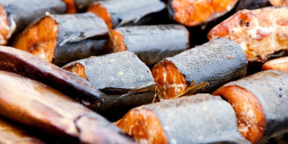 Aal räuchern