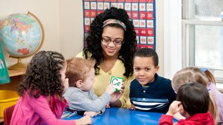 Sprachspiele im Kindergarten