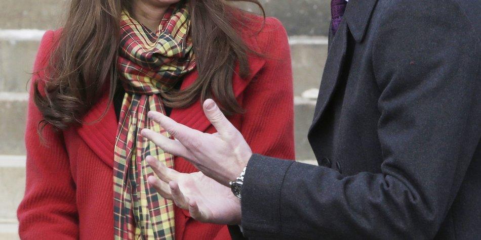 Kate Middleton hat Angst dick zu werden