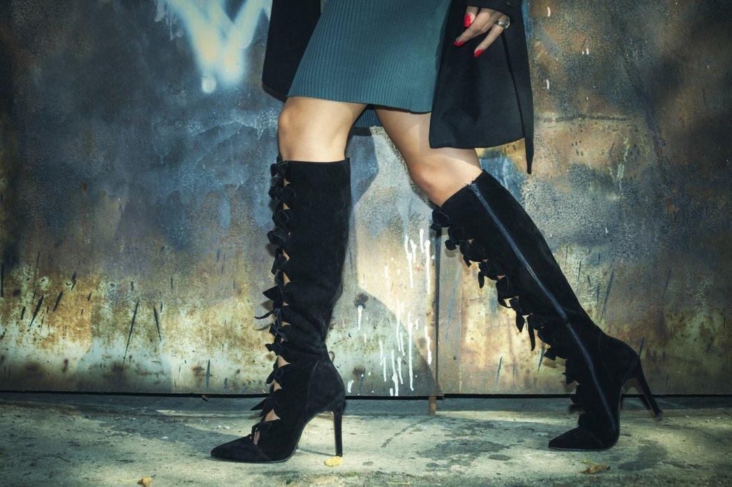 In der Stiefelzeit haben es Frauen mit kräftigen Waden nicht immer einfach. 8e1ef6b61e