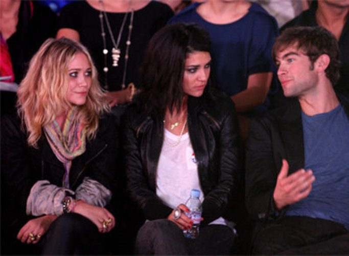 Chace Crawford, Mary-Kate Olsen und Jessica Szohr