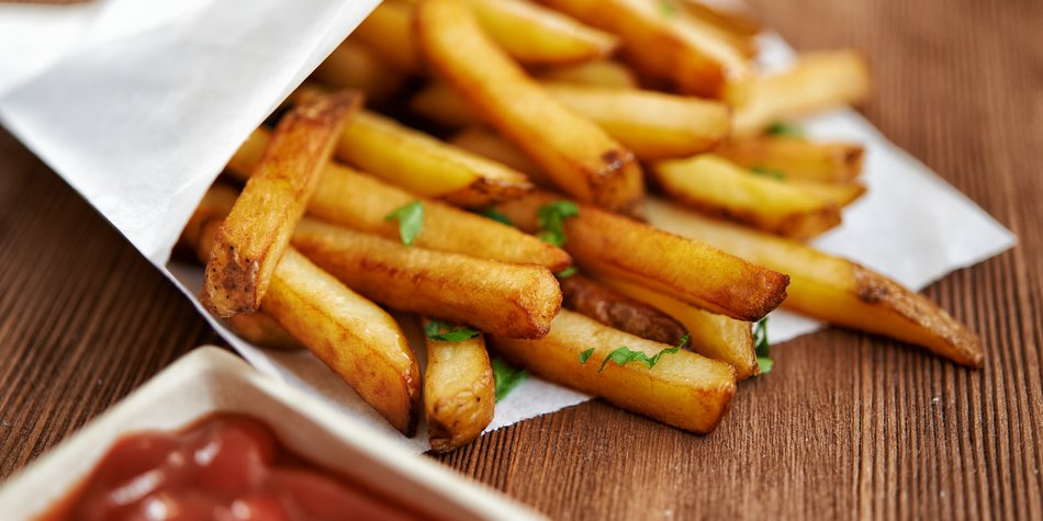 pommes backofen temperatur