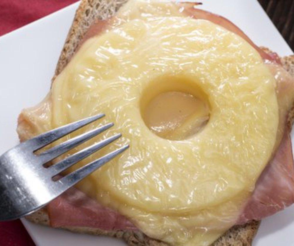 Toast Hawaii Käse