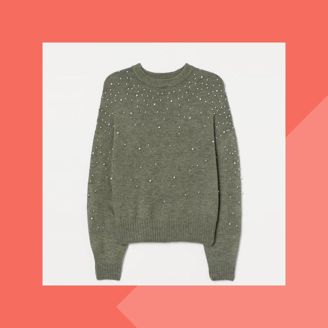 Pullover mit auffälligen Details