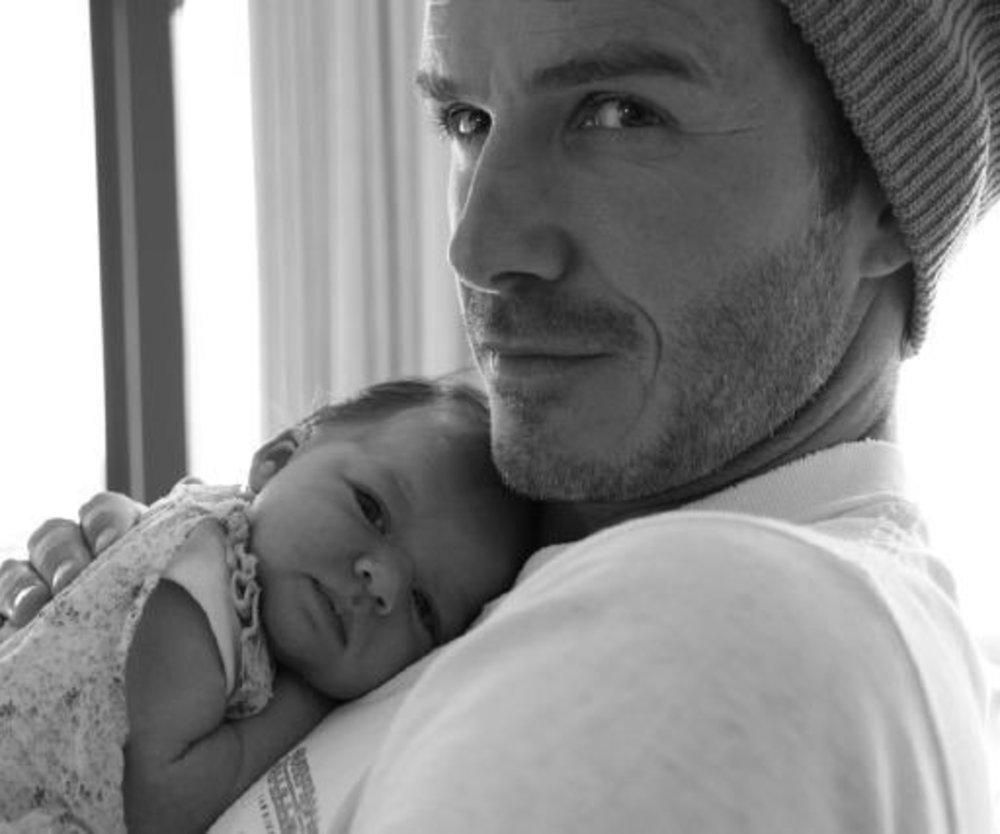 Beckham Familie zu Weihnachten
