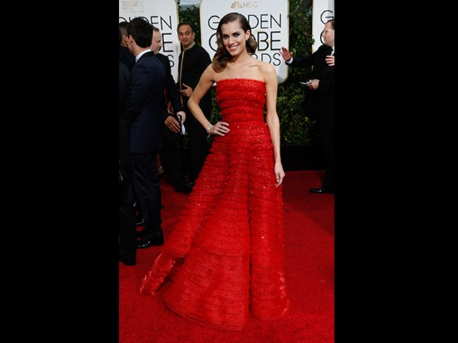 Golden Globes 2015 Allison Williams