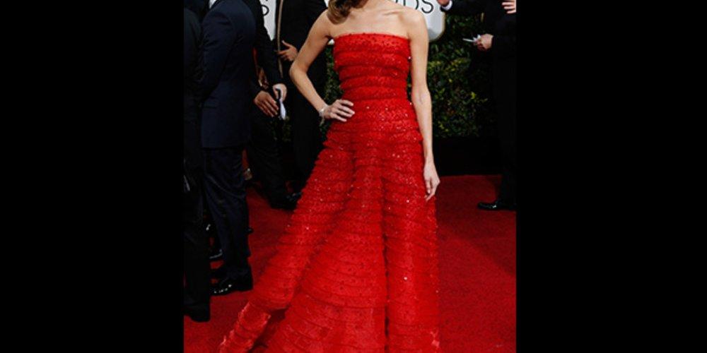 Golden Globes 2015 Allison Williams