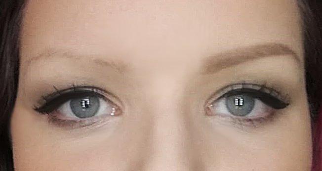 Microblading Augenbrauen vorher