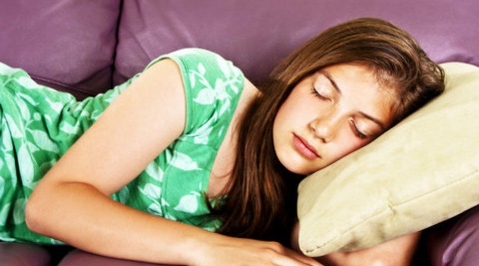 Pubertät erfolgt im Tiefschlaf
