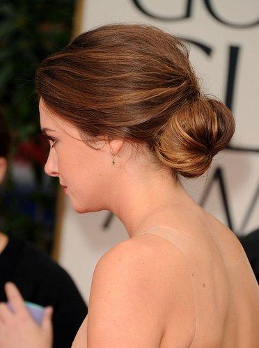 Shailene Woodley mit Haarknoten