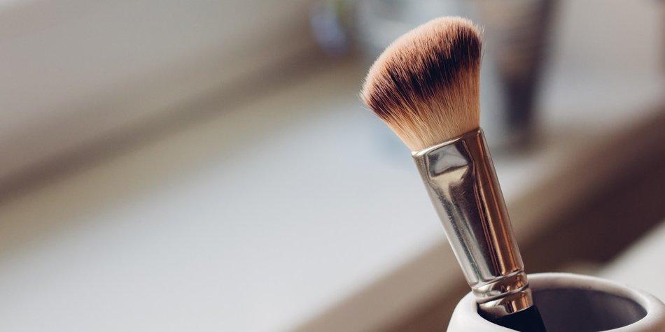 Make-up-Pinsel reinigen