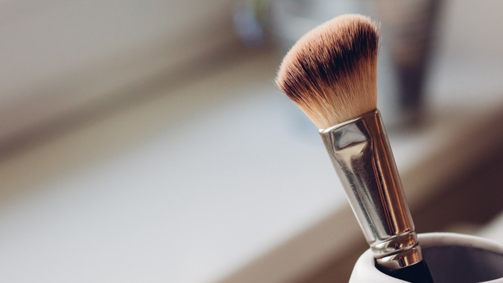 Make-up-Pinsel reinigen