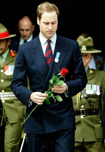 Prinz William wird einmal König von England sein