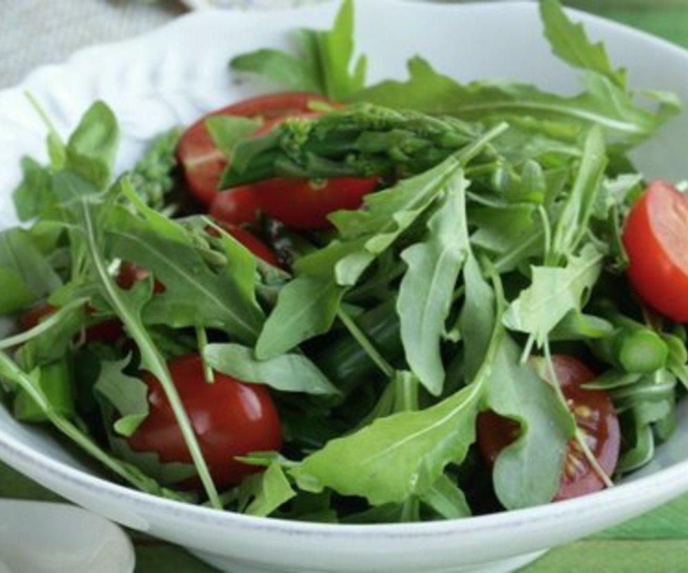 Tomaten Rucola Salat