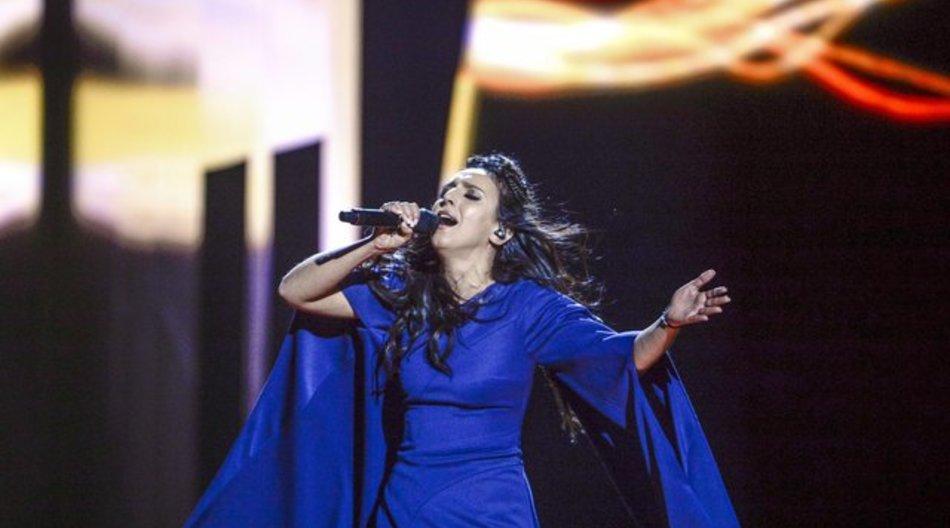 Jamala wurde bei einem Gesangswettbewerb in Lettland entdeckt.