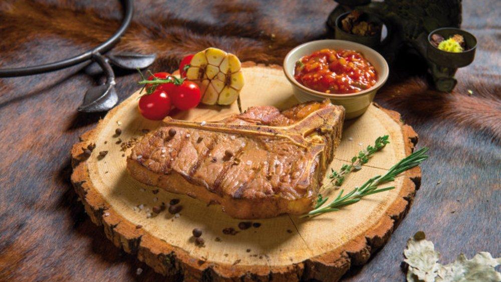 Porterhouse Steak: Groß, dick und perfekt gegart