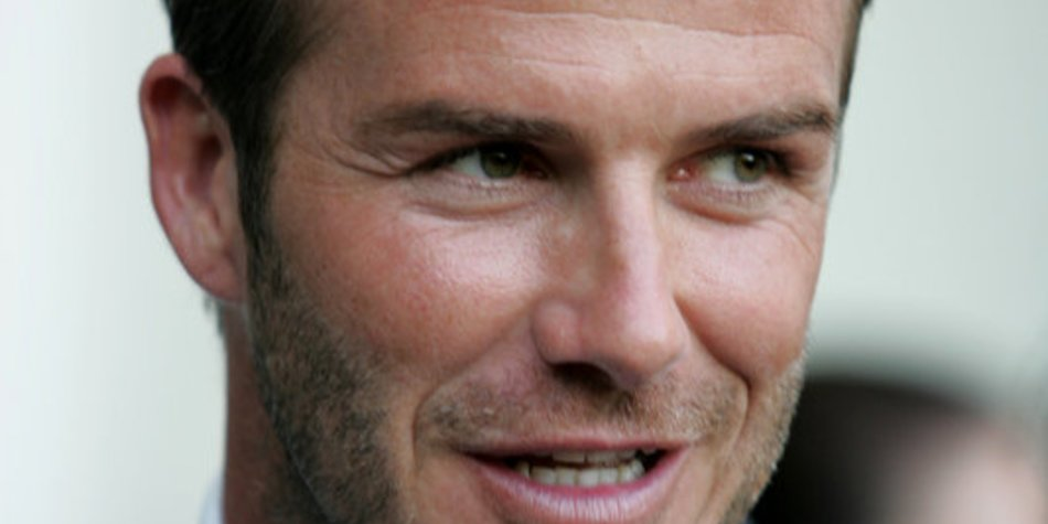 David Beckham zeigt Vaterstolz