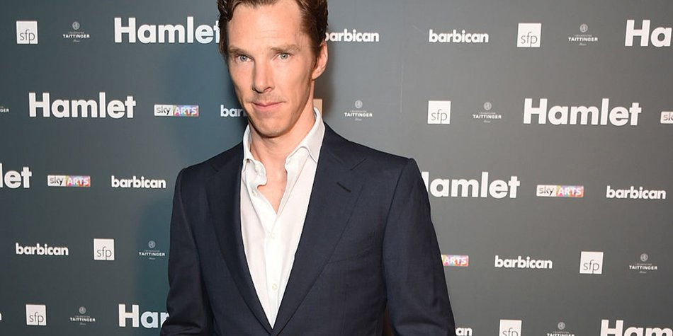 "LONDON, ENGLAND - AUGUST 25: Benedict Cumberbatch attends an after party following the press night performance of ""Hamlet"" at the Barbican Centre on August 25, 2015 in London, England. (Photo by David M. Benett/Dave Benett/Getty Images)"