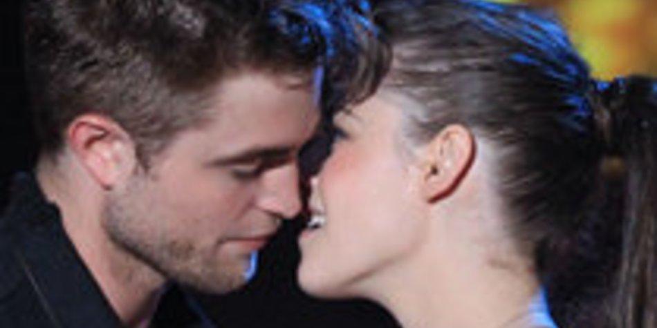 Kristen Stewart und Robert Pattinson: Kuss und Ohrfeige
