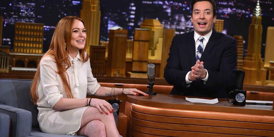 Lindsay Lohan kehrt auf die TV-Bildschirme zurück