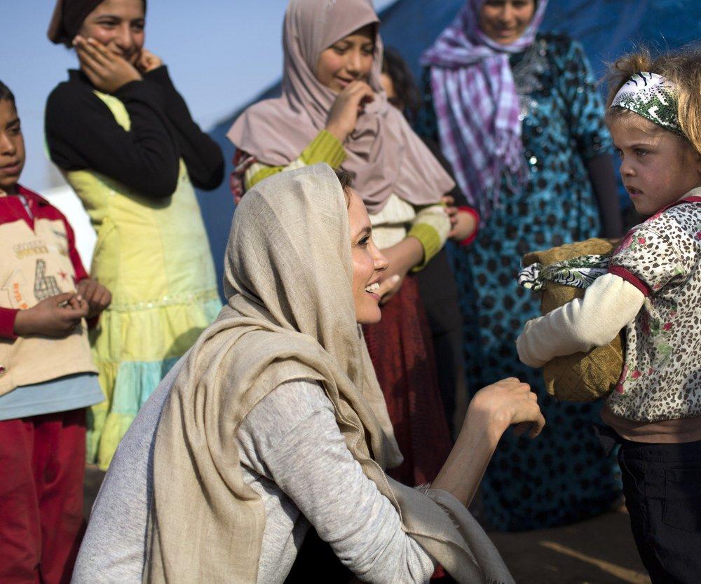 Angelina Jolie besucht überraschend den Libanon