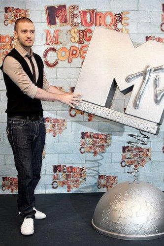 Justin Timberlake moderierte die MTV Europe Music Awards in Kopenhagen