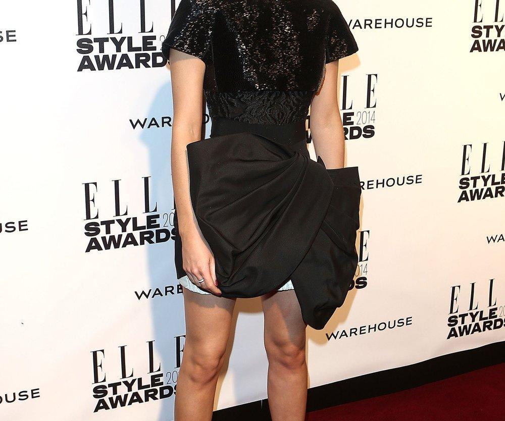 Emma Watson erscheint im Hingucker-Kleid bei den ELLE Style Awards