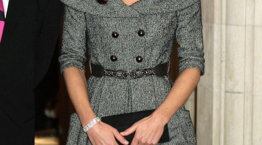 Kate Middleton mit Solo-Auftrit