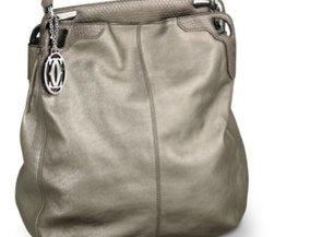 Hobo Bag in Grau