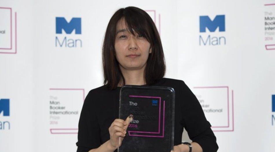 Die südkoreanische Autorin Han Kang hat den Booker-Preis gewonnen.