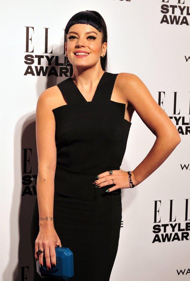 Lily Allen bei den Elle Style Awards 2014