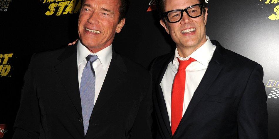 Johnny Knoxville hatte Angst vor Arnold Schwarzenegger