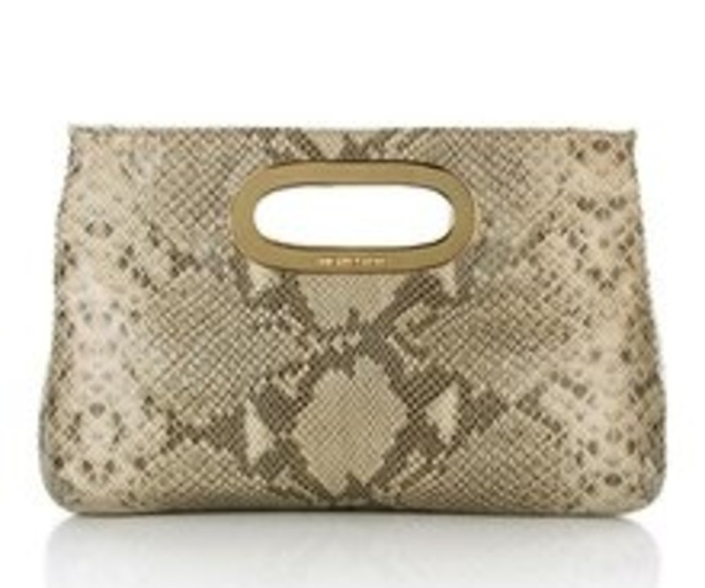 Michael Kors Berkley Clutch Angora