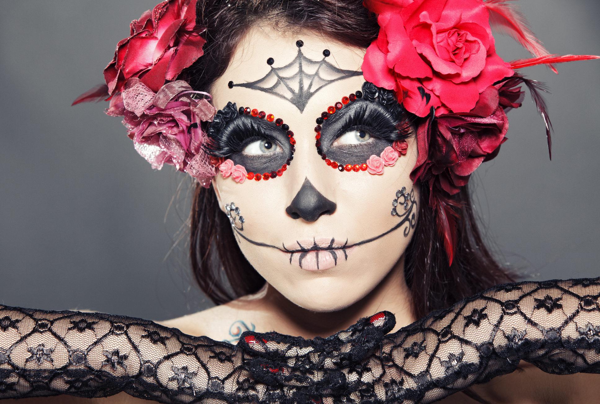 La Catrina Schminken Easy Make Up Tutorial Desired De