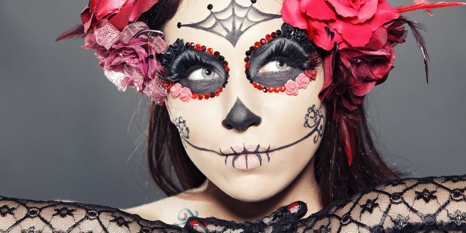 La Catrina schminken: Easy Make-up Tutorial