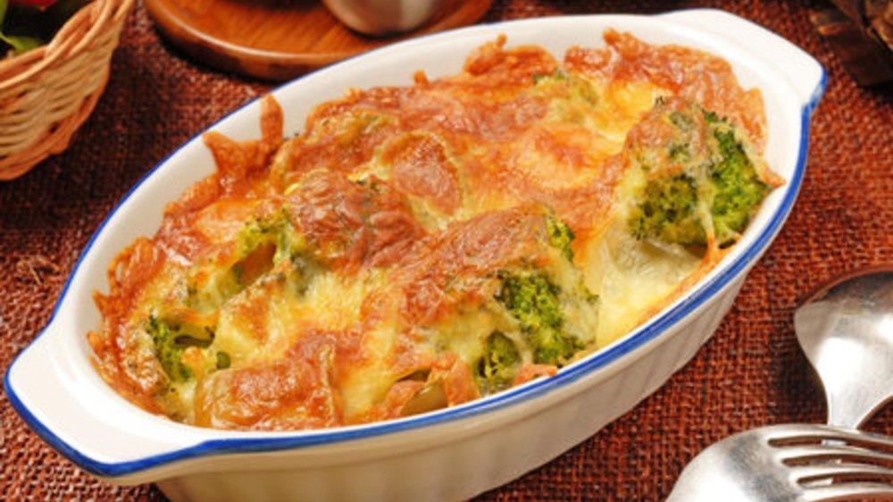 Brokkoli Auflauf fettarm