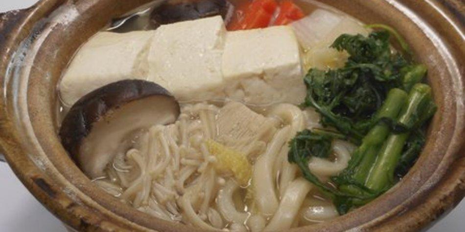 Asiatische Nudelsuppe mit Shiitake