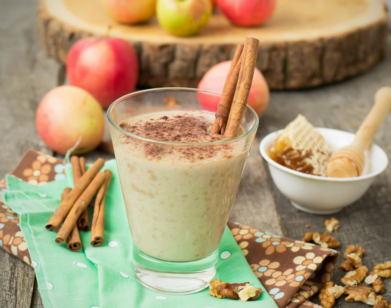 Warmer Bratapfel Smoothie