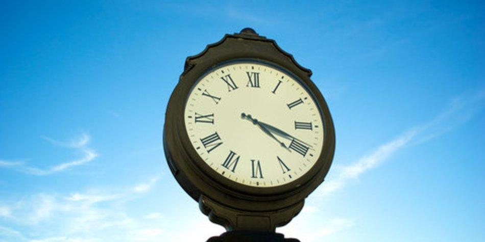 Eltern leiden unter Zeitdruck