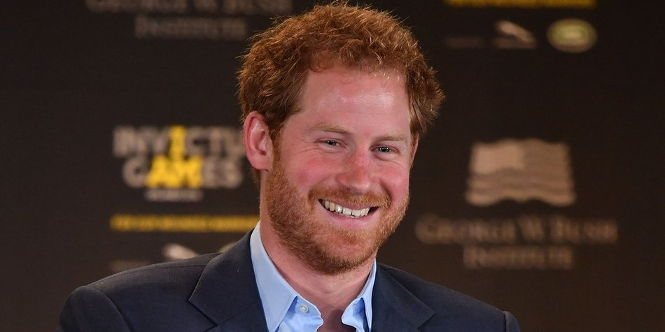 ORLANDO, FL - MAY 08: Prince Harry smiles during the Opening Ceremony of the Invictus Games Orlando 2016 at ESPN Wide World of Sports on May 8, 2016 in Orlando, Florida. Prince Harry, patron of the Invictus Games Foundation is in Orlando ahead of the opening of Invictus Games which will open on Sunday. The Invictus Games is the only International sporting event for wounded, injured and sick servicemen and women. Started in 2014 by Prince Harry the Invictus Games uses the power of Sport to inspire recovery and support rehabilitation. (Photo By Tim Rooke - Pool /Getty Images)