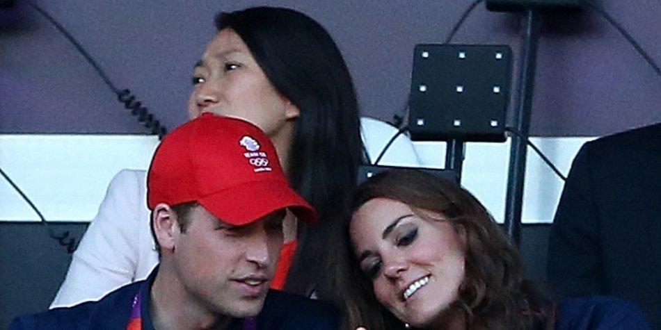 Prinz William und Kate zeigen offen ihre Liebe