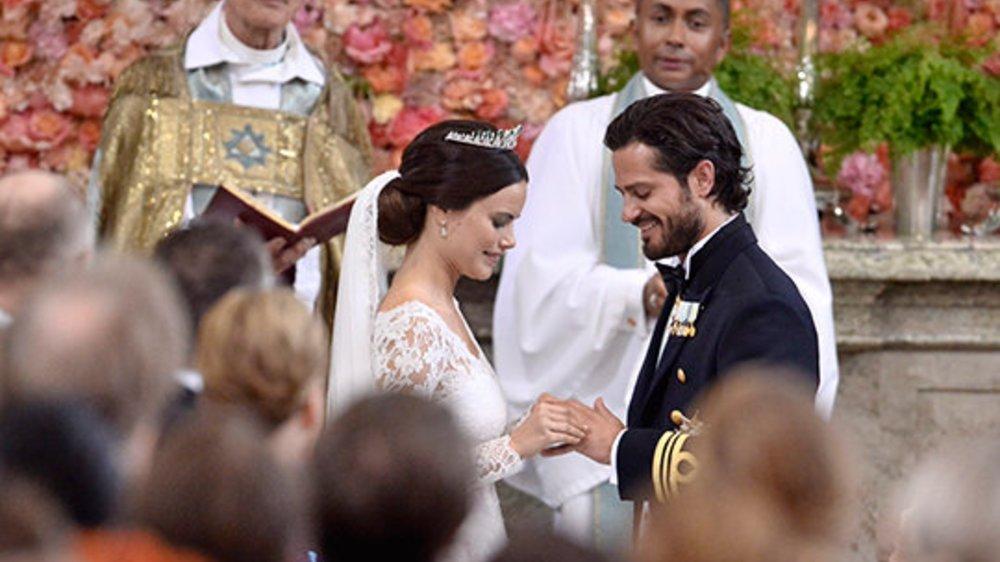 """Sofia Hellqvist und Carl Philip von Schweden haben """"Ja"""" gesagt"""