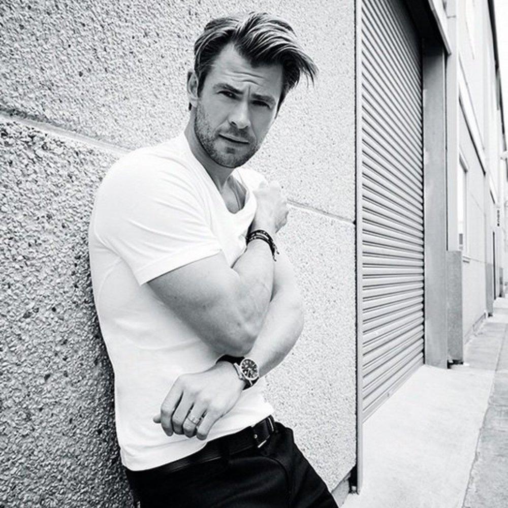 Chris Hemsworth ist in Wahrheit ein Softie!