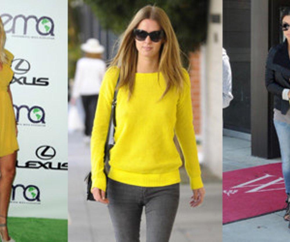 Gelb: Sonne für den Kleiderschrank